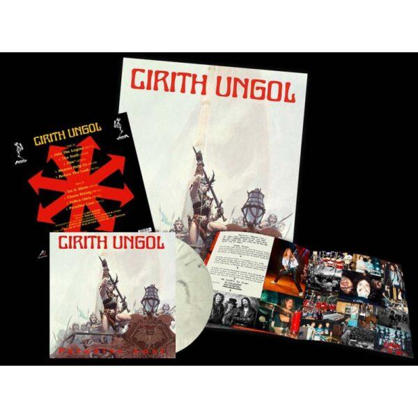 Cirith Ungol- Paradise Lost - LP (white/black marbled)