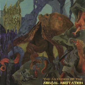 Infected Flesh ‎– The Ascension Of The Abysmal Aberration - CD