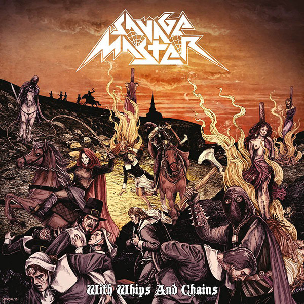 Savage Master ‎– With Whips And Chains - LP