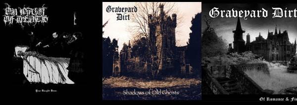 3 vinyl bundle - Graveyard Dirt & On Pain of Death